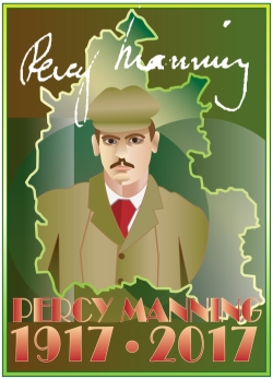 Percy Manning poster